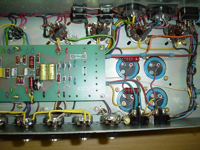 Red plates on my new 100 Watt build       bad tube? - Metropoulos Forum